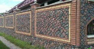 Каменный забор Москва цена от 10450 руб.