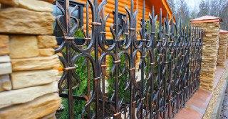 Кованые заборы Москва цена от 3391 руб.