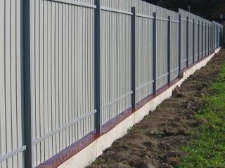 Забор на ленточном фундаменте Москва цена от 7465 руб.