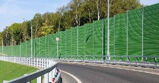 Шумозащитный забор Москва, цена от 2666 руб.