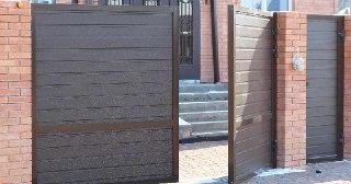 Ворота Алютекс под ключ в Москве цена от 8851 руб.