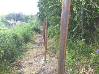Забор из профнастила Москва - цены с установкой под ключ от 1173 руб.