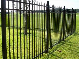 Забор на винтовых сваях Москва цена от 2346 руб.