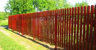 Забор для дачи Москва цена от 1280 руб.
