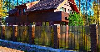 Забор для дома Москва цена от 1600 руб.