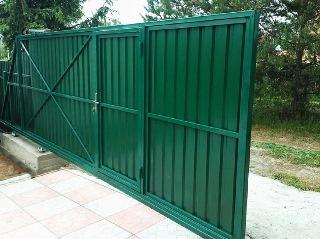 Ворота под ключ Москва цена 8318 руб.